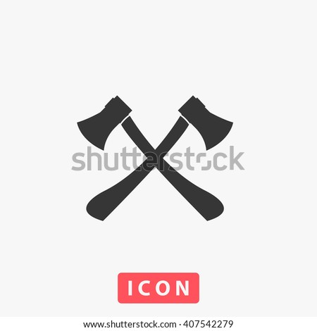 axes crossed icon  axes crossed