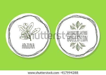 ayurvedic herb collection