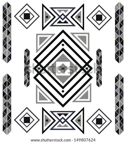 Aztec Designs And Patterns Aztec Design Pattern