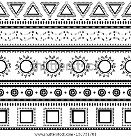 Aztec Designs And Patterns Aztec Seamless Pattern