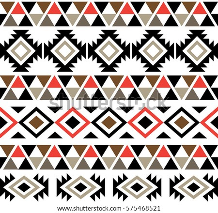 Tribal Graphics Ethnic Decoration Download Free Vector Art Stock Adorable Aztec Tribal Pattern