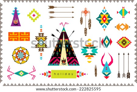 Native American Border Free Vector Art - (67 Free Downloads)