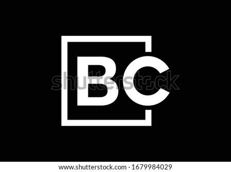 B C, BC Initial Letter Logo design vector template, Graphic Alphabet Symbol for Corporate Business Identity Foto stock ©