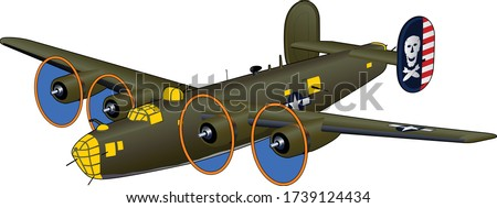 b 24d liberator world war ii