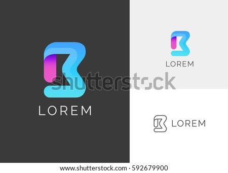 b letter alphabet colorful blue