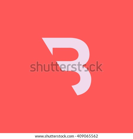 b letter logo vector element
