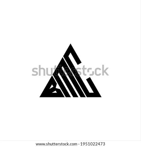 B M C letter logo creative design. BMC icon Zdjęcia stock ©