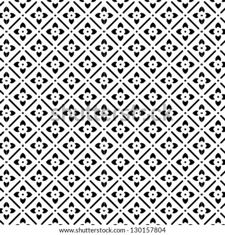 b w elegant vector pattern