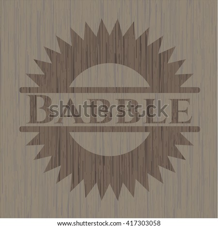 Babble realistic wood emblem