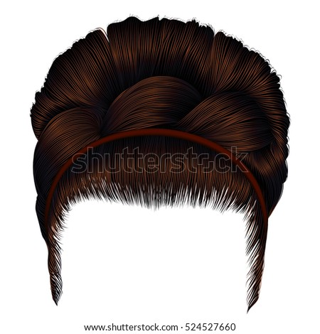 Vector Images Illustrations And Cliparts Babette Of Hairs With