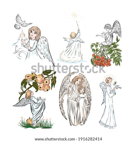 baby angel biblical heavenly