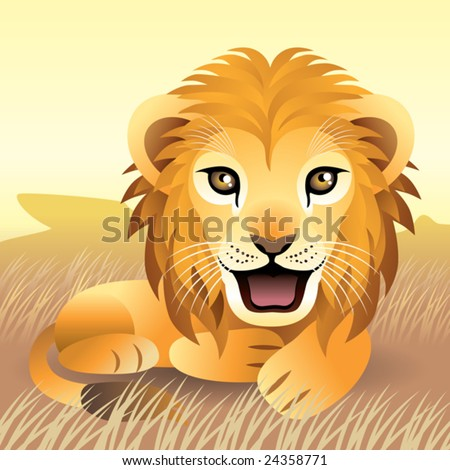Baby Animal collection: Lion\\ \\ More baby animals in my gallery.