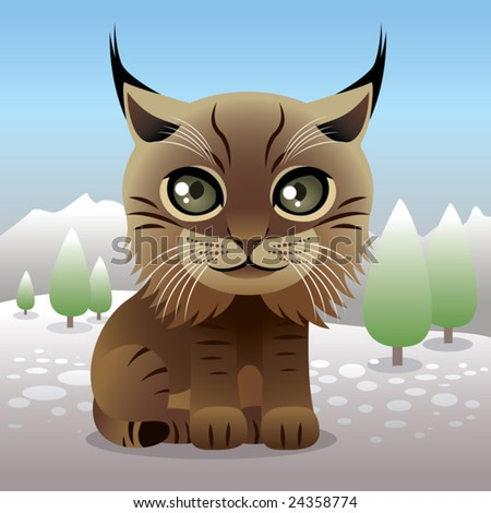 Baby Animal collection: Lynx\\ \\ More baby animals in my portfolio.