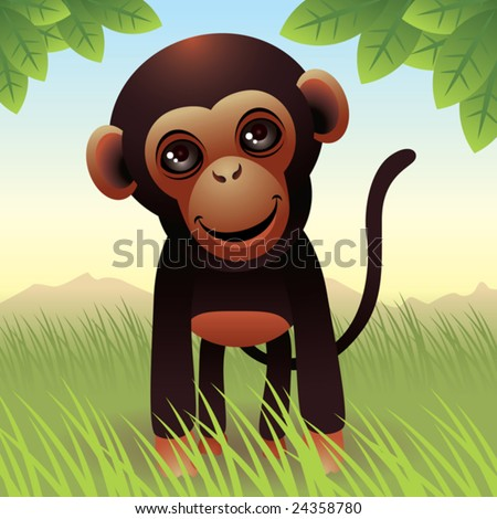 Baby Animal collection: Monkey\\ \\ More baby animals in my gallery.