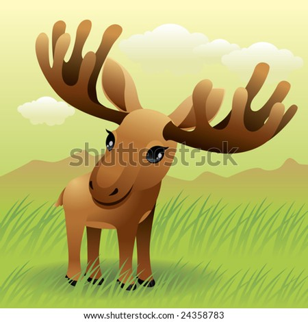 Baby Animal collection: Moose\\ \\ More baby animals in my gallery.