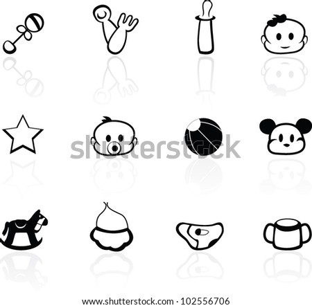 baby background for toddler, newborn and greeting cards