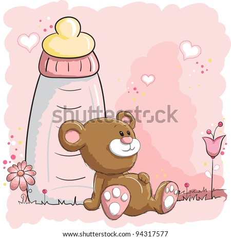 baby bear and bottle