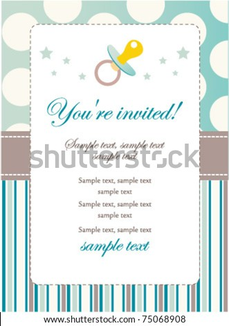 royalty free stock photos and images baby boy birthday invitation