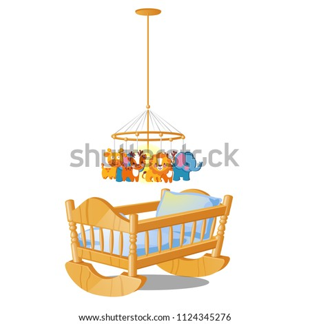 baby carousel with hanging toys