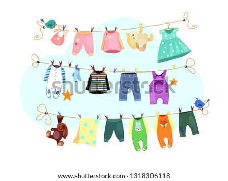689db8055 Vector libre de la ropa del bebé - Descargue Gráficos y Vectores Gratis