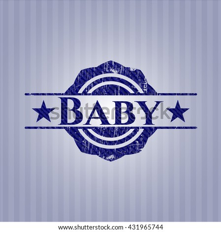 Baby denim background