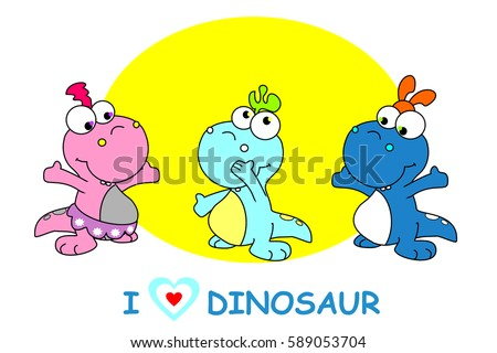 baby dinosaur design for t
