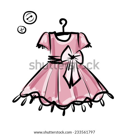 baby dress on hangers for your