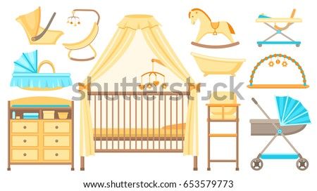 baby furniture and equipment