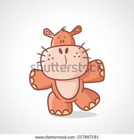Baby Cartoon Characters Names Baby Hippo Cartoon Character
