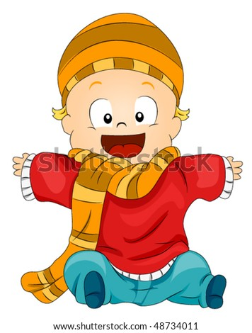 Baby Winter Clothes on Tattoo Jam  Clip Art Winter Clothes