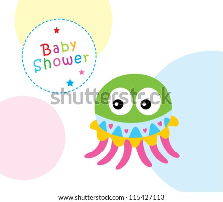 baby jellyfish shower