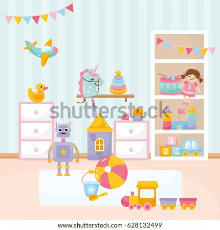baby playing room cozy kids
