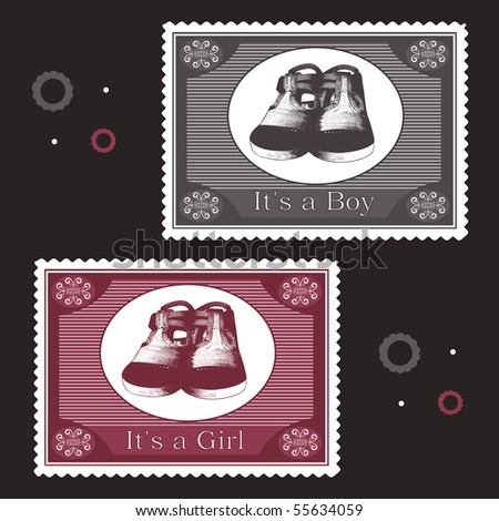 baby postage stamps
