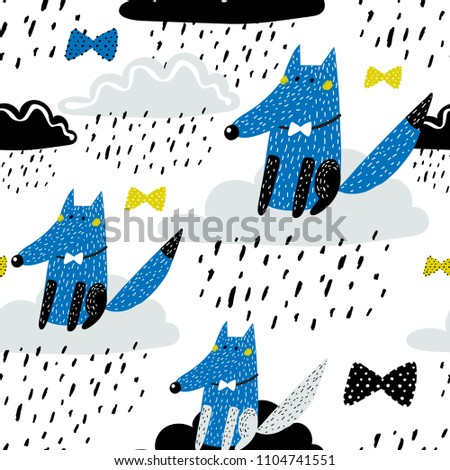 baby seamless pattern   cute