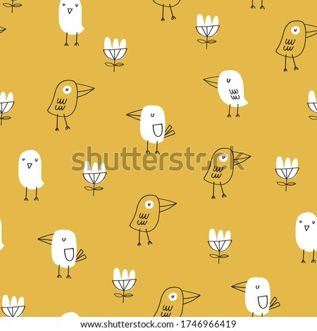 baby seamless vector pattern