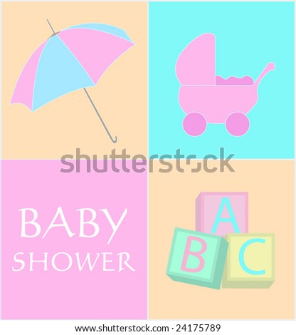 Baby shower announcement/card