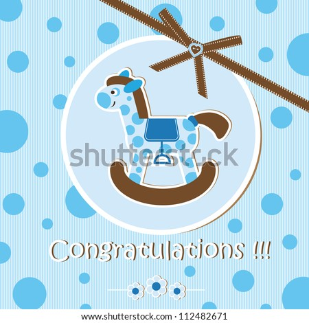 baby shower boy stock vector illustration 112482671 shutterstock