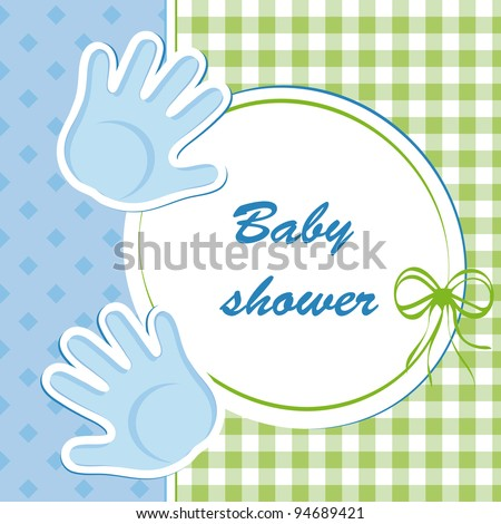 baby shower boy stock vector illustration 94689421 shutterstock
