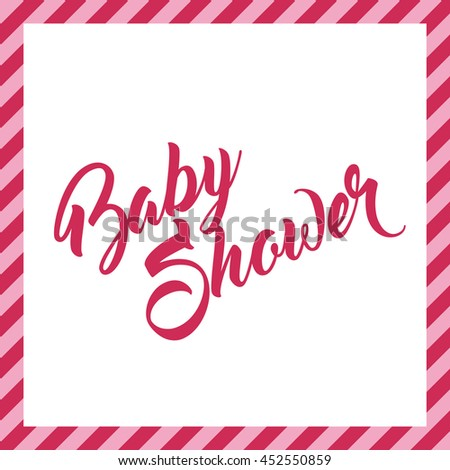 Baby Shower Greeting Card #452550859