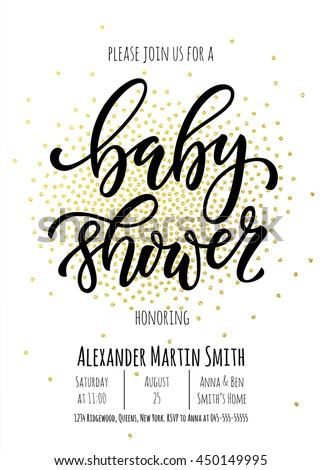 30 Baby Shower Invitation Vectors Download Free Vector