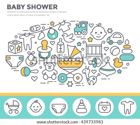 Baby Shower Rubber Duck Invitations - Download Free Vector Art ...