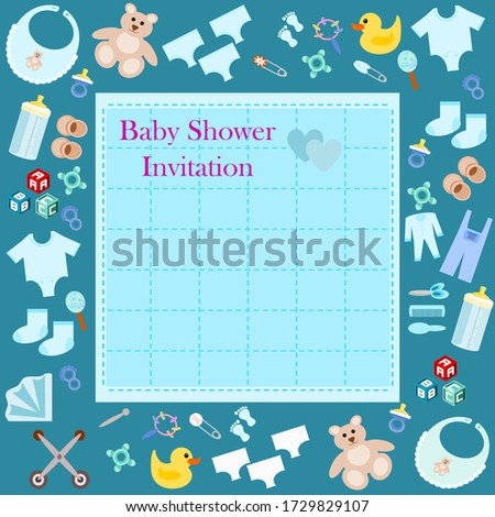 baby shower invitation text on