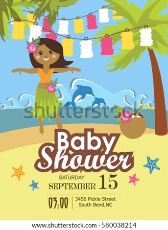 baby shower party invitation