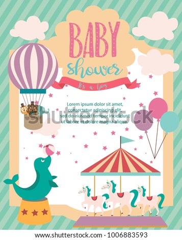 baby shower party invitation...