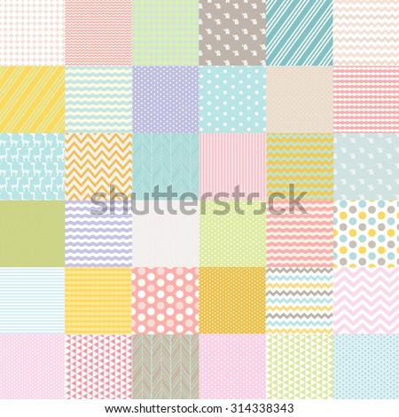 Baby Shower Poster, Vector Illustration