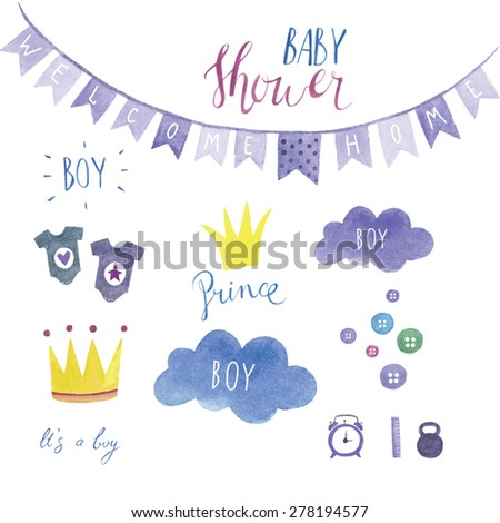 baby shower set for boy