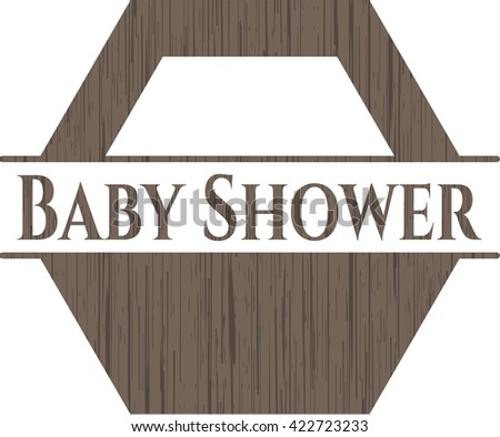 Baby Shower wood signboards