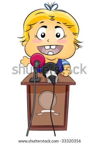 Future Baby Picture on Baby Speech   Future Leader   Vector   33320356   Shutterstock