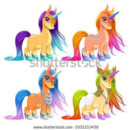 baby unicorns for luck ...
