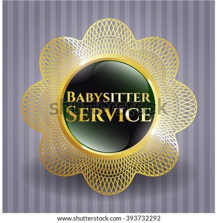 Babysitter Service gold badge